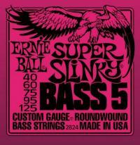 Струны для 5-ти струнной бас гитары ERNIE BALL 2824 Super Round Wound