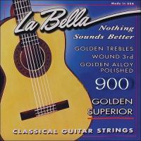 Струны для классической гитары La Bella 900 Superior