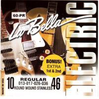 Струны для электрогитары La Bella 60PR