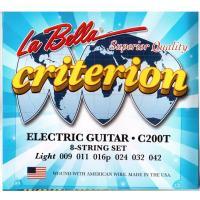 Струны для электрогитары La Bella C200T
