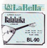 Струны для балалайки La Bella  BL90