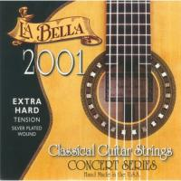 Струны для классической гитары La Bella 2001 Extra Hard