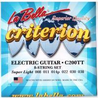 Струны для электрогитары La Bella C200TT