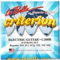 Струны для электрогитары La Bella C200R