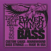 Струны для 4-струнной бас-гитары ERNIE BALL 2831 Round Wound