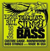 Струны для 4-х струнной бас гитары ERNIE BALL 2832 Regular