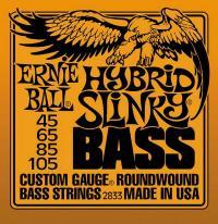 Струны для 4-х струнной бас гитары ERNIE BALL 2833 Hybrid