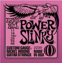 Струны для электрогитары ERNIE BALL 2220 Power Slinky