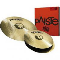 "Комплект тарелок PAISTE Essential Set 101 Brass 14""-18""  купить"