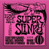 Струны для электрогитары ERNIE BALL 2223 Super Slinky