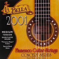 Струны для классической гитары La Bella 2001 Flamenco Medium