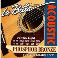 Струны для двенадцатиструнной акустической гитары La Bella 7GP12L