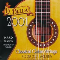 Струны для классической гитары La Bella 2001 Flamenco Hard