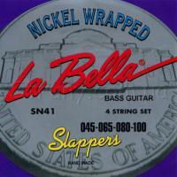 Струны для 4-струнной бас-гитары La Bella SN41