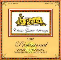Струны для классической гитары La Bella 500P Recording Concert