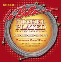 Струны для 5-струнной бас-гитары La Bella SN45B