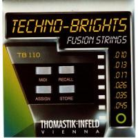 Струны для электрогитары Thomastik TB110 Techno-Brights