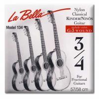 Струны для уменьшенной классической гитары 3/4 La Bella FG134