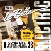 Струны для электрогитары La Bella 60PUL