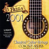 Струны для классической гитары La Bella 2001 Light