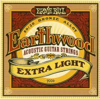 Струны для акустической гитары ERNIE BALL 2006 Earthwood® 80/20 Bronze