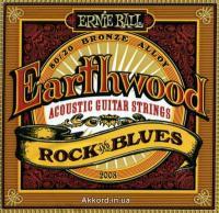 Струны для акустической гитары ERNIE BALL 2008 Earthwood® 80/20 Bronze