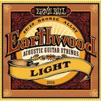 Струны для акустической гитары ERNIE BALL 2004 Earthwood® 80/20 Bronze