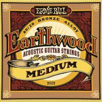 Струны для акустической гитары ERNIE BALL 2002 Earthwood® 80/20 Bronze