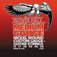 Струны для электрогитары ERNIE BALL 2204 Nickel Wound