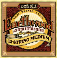 Струны для12-ти струнной акустической гитары ERNIE BALL 2012