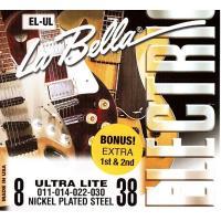 Струны для электрогитары La Bella EL-UL