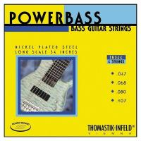 Струны для 4-струнной бас-гитары Thomastik EB344 Power Bass