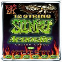 Струны для 12-ти струнной акустической гитары ERNIE BALL 2153