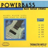 Струны для шестиструнной бас-гитары Thomastik EB346