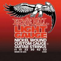 Струны для электрогитары ERNIE BALL 2208 Light