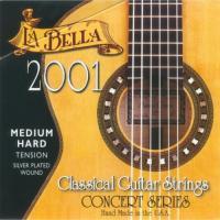 Струны для классической гитары La Bella 2001 Medium Hard