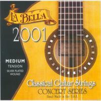 Струны для классической гитары La Bella 2001 Medium