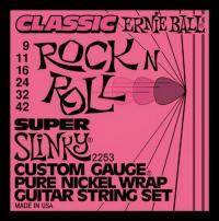 Струны для электрогитары ERNIE BALL 2253 Super Slinky
