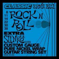 Струны для электрогитары ERNIE BALL 2255 Extra Slinky