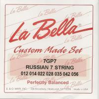 Струны для русской семиструрнной гитары La Bella 7GP7