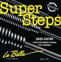 Струны для 4-струнной бас-гитары La Bella SS42 Custom Light