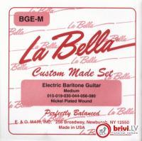 Струны для 4-струнной акустической бас- гитары La Bella AB20