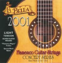 Струны для классической гитары La Bella 2001 Flamenco Light