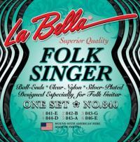 Струны для классической гитары La Bella 840