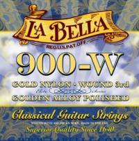 Струны для классической гитары La Bella 900W