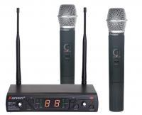 Купить Радиосистема с 2-мя ручными микрофонами KARSECT KRU162/KST-6U в кейсе