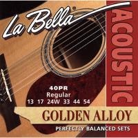 Струны для акустической гитары La Bella 40PR