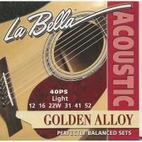 Струны для акустической гитары La Bella 40PS