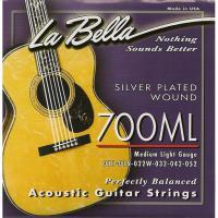 Струны для акустической гитары La Bella 700 ML