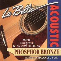 Струны для акустической гитары La Bella 7GPB